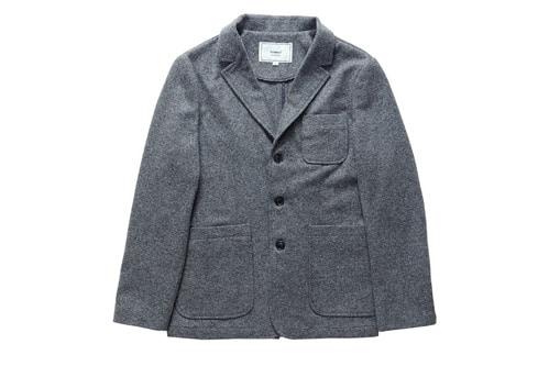Wool Sports Jacket (Grey)