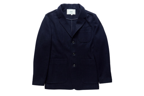 Wool Sports Jacket (Navy)