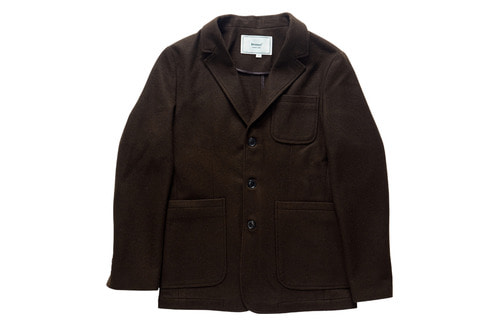 Wool Sports Jacket (Brown)