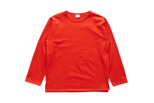 Boat Neck T-Shirts (Red)