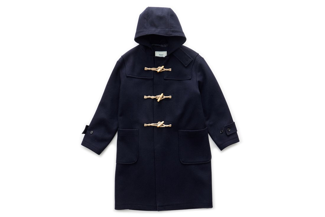 Long Duffle Coat (Navy)